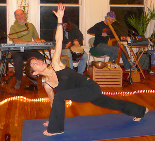 Live Music Yoga and movement flow with Jyoti Kessler and One Love